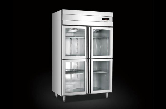 低溫玻璃門展示柜系列 (Upright Refrigerator)